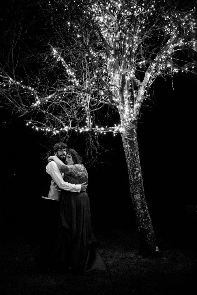 Boda-arbol-noche-luces